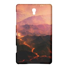 Volcanoes Magma Lava Mountains Samsung Galaxy Tab S (8 4 ) Hardshell Case  by Sapixe