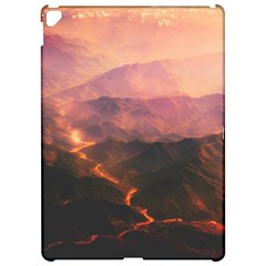 Volcanoes Magma Lava Mountains Apple Ipad Pro 12 9   Hardshell Case by Sapixe