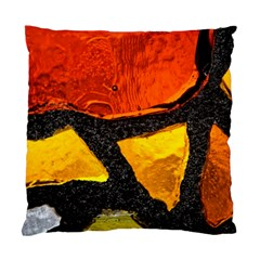Colorful Glass Mosaic Art And Abstract Wall Background Standard Cushion Case (one Side) by Jojostore