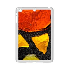 Colorful Glass Mosaic Art And Abstract Wall Background Ipad Mini 2 Enamel Coated Cases by Jojostore