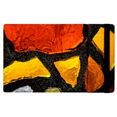 Colorful Glass Mosaic Art And Abstract Wall Background Apple Ipad Pro 9 7   Flip Case by Jojostore