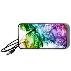 Colour Smoke Rainbow Color Design Portable Speaker