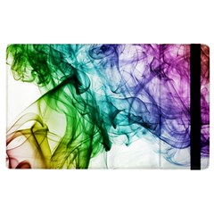 Colour Smoke Rainbow Color Design Apple Ipad 3/4 Flip Case