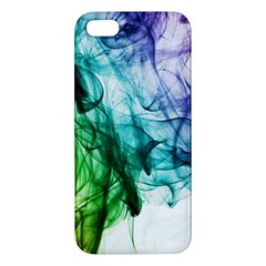 Colour Smoke Rainbow Color Design Apple Iphone 5 Premium Hardshell Case