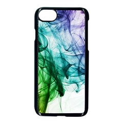 Colour Smoke Rainbow Color Design Apple Iphone 7 Seamless Case (black) by Jojostore