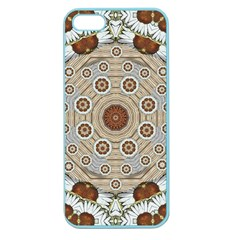 Flower Wreath In The Jungle Wood Forest Apple Seamless Iphone 5 Case (color)