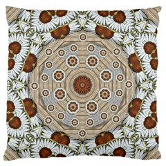 Flower Wreath In The Jungle Wood Forest Standard Flano Cushion Case (one Side)