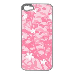 Plant Flowers Bird Spring Apple Iphone 5 Case (silver)