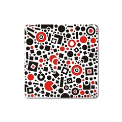 Square Objects Future Modern Square Magnet