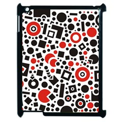 Square Objects Future Modern Apple Ipad 2 Case (black) by Sapixe