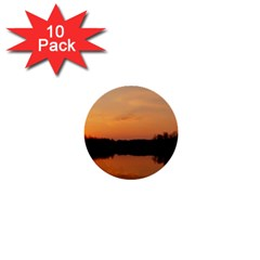 Sunset Nature 1  Mini Buttons (10 Pack)