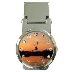 Sunset Nature Money Clip Watches by Sapixe