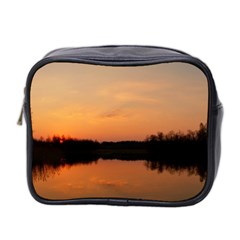 Sunset Nature Mini Toiletries Bag (two Sides) by Sapixe