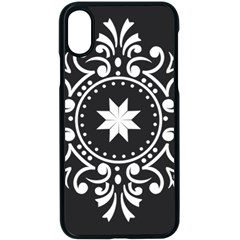 Table Pull Out Computer Graphics Apple Iphone X Seamless Case (black)