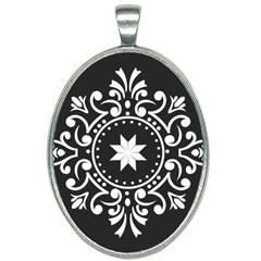 Table Pull Out Computer Graphics Oval Necklace
