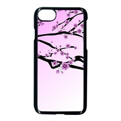 Essential Oils Flowers Nature Plant Apple Iphone 8 Seamless Case (black) by Sapixe
