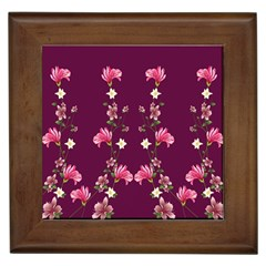 New Motif Design Textile New Design Framed Tiles