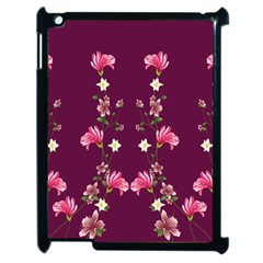 New Motif Design Textile New Design Apple Ipad 2 Case (black)