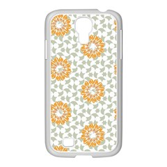 Stamping Pattern Fashion Background Samsung Galaxy S4 I9500/ I9505 Case (white) by Sapixe