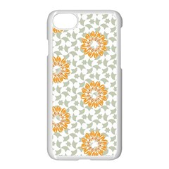 Stamping Pattern Fashion Background Apple Iphone 8 Seamless Case (white) by Sapixe