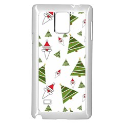 Christmas Samsung Galaxy Note 4 Case (white)