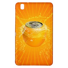 Orange Drink Splash Poster Samsung Galaxy Tab Pro 8 4 Hardshell Case by Sapixe