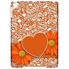 Flower Floral Heart Background Apple Ipad Pro 9 7   Hardshell Case by Sapixe