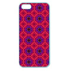 Retro Abstract Boho Unique Apple Seamless Iphone 5 Case (color) by Sapixe