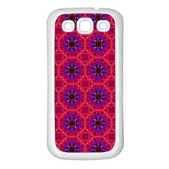 Retro Abstract Boho Unique Samsung Galaxy S3 Back Case (white)