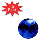 Jellyfish Sea Diving Sea Animal 1  Mini Buttons (10 Pack)