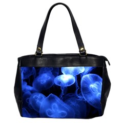 Jellyfish Sea Diving Sea Animal Oversize Office Handbag (2 Sides) by Sapixe