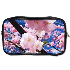 Flower Cherry Wood Tree Flowers Toiletries Bag (one Side) by Sapixe