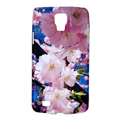 Flower Cherry Wood Tree Flowers Samsung Galaxy S4 Active (i9295) Hardshell Case by Sapixe