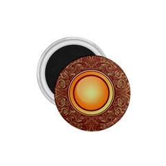 Badge Gilding Sun Red Oriental 1 75  Magnets by Sapixe