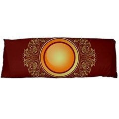 Badge Gilding Sun Red Oriental Body Pillow Case Dakimakura (two Sides)