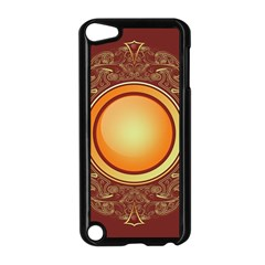 Badge Gilding Sun Red Oriental Apple Ipod Touch 5 Case (black)