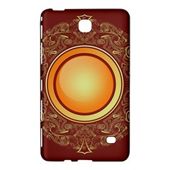 Badge Gilding Sun Red Oriental Samsung Galaxy Tab 4 (7 ) Hardshell Case  by Sapixe