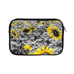 Sunflower Field Girasol Sunflower Apple Ipad Mini Zipper Cases by Sapixe
