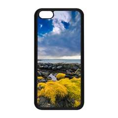Iceland Nature Mountains Landscape Apple Iphone 5c Seamless Case (black) by Sapixe