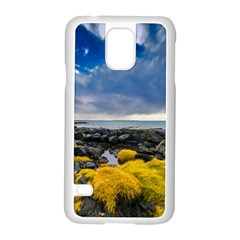 Iceland Nature Mountains Landscape Samsung Galaxy S5 Case (white)