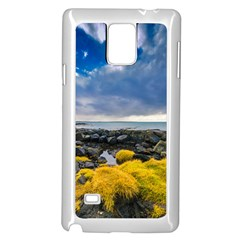 Iceland Nature Mountains Landscape Samsung Galaxy Note 4 Case (white)