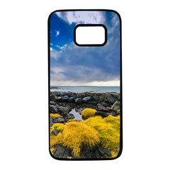 Iceland Nature Mountains Landscape Samsung Galaxy S7 Black Seamless Case