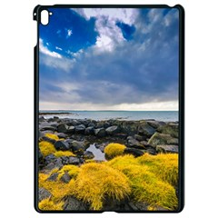 Iceland Nature Mountains Landscape Apple Ipad Pro 9 7   Black Seamless Case by Sapixe