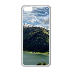 Panoramic Nature Mountain Water Apple Iphone 5c Seamless Case (white)