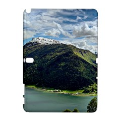 Panoramic Nature Mountain Water Samsung Galaxy Note 10 1 (p600) Hardshell Case by Sapixe