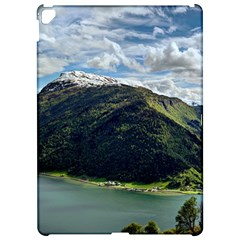 Panoramic Nature Mountain Water Apple Ipad Pro 12 9   Hardshell Case