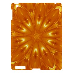 Kaleidoscopic Flower Apple Ipad 3/4 Hardshell Case by yoursparklingshop