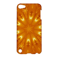 Kaleidoscopic Flower Apple Ipod Touch 5 Hardshell Case by yoursparklingshop