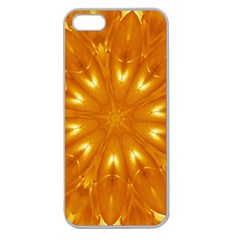 Kaleidoscopic Flower Apple Seamless Iphone 5 Case (clear) by yoursparklingshop