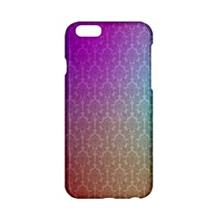 Blue And Pink Colors On A Pattern Apple Iphone 6/6s Hardshell Case by Jojostore